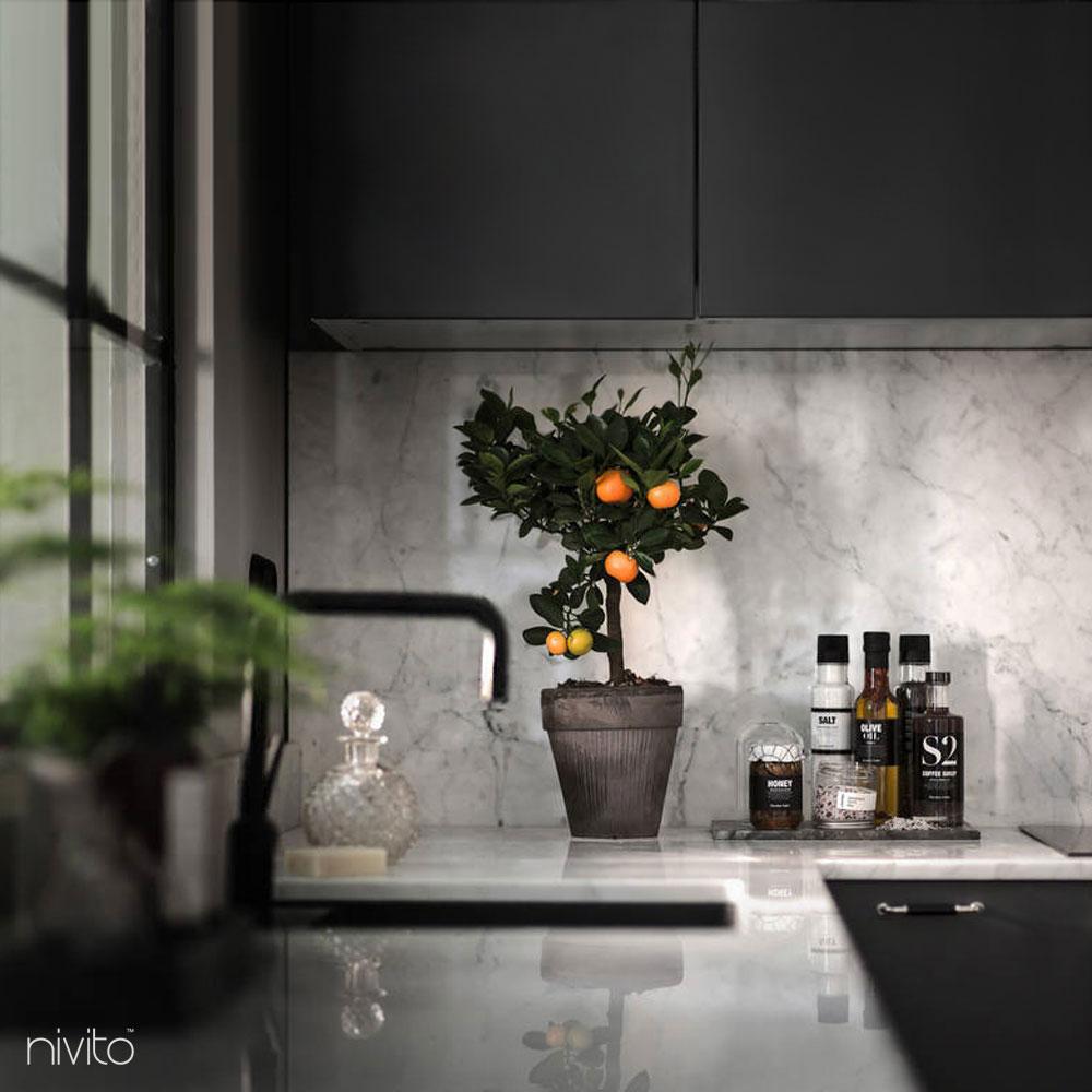 Rubinetto Miscelatore Nero - Nivito 10-RH-320
