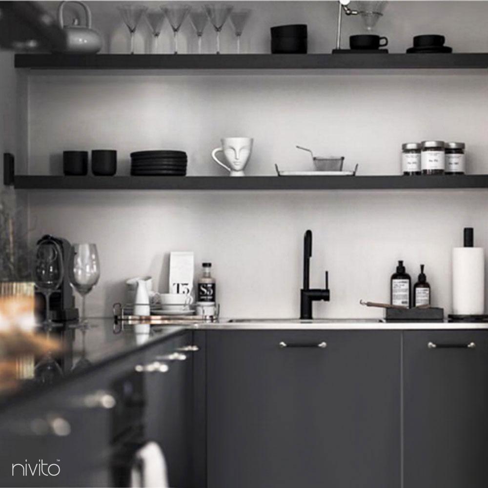 Nero design rubinetto