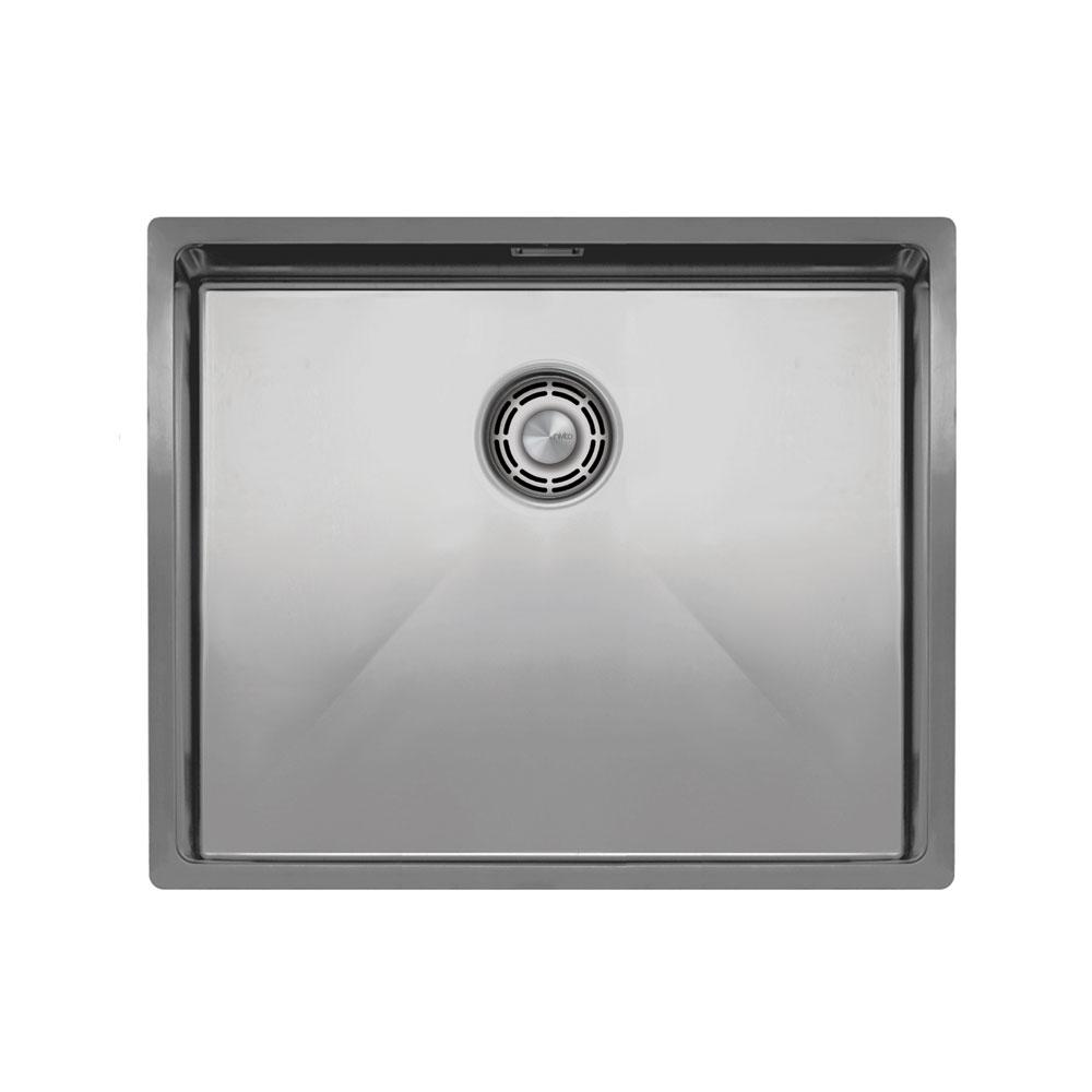 Basin Della Cucina Acciaio Inossidabile - Nivito CU-500-B Strainer ∕ Waste Kit Color Brushed Steel