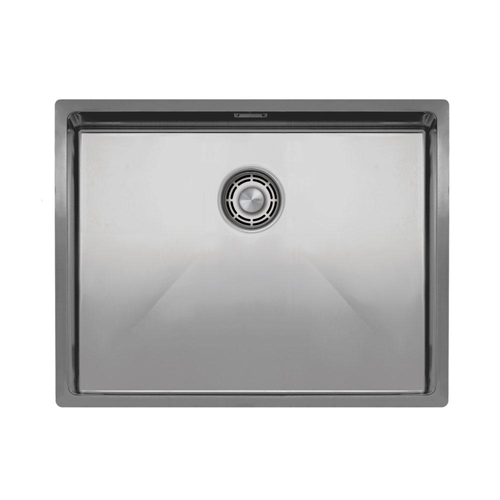 Basin Della Cucina Acciaio Inossidabile - Nivito CU-550-B Strainer ∕ Waste Kit Color Brushed Steel
