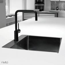 Rubinetto Cucina Nero - Nivito 1-RH-320