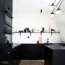 Rubinetto Cucina Nero - Nivito 13-RH-320