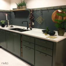 Rubinetto Cucina Nero - Nivito 14-RH-320