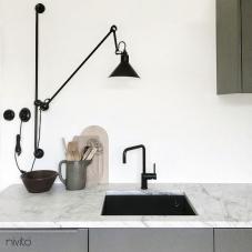 Rubinetto Cucina Nero - Nivito 16-RH-320
