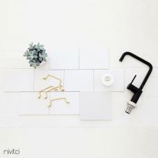Rubinetto Cucina Nero - Nivito 19-RH-320