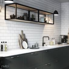Rubinetto Cucina Nero - Nivito 22-RH-320