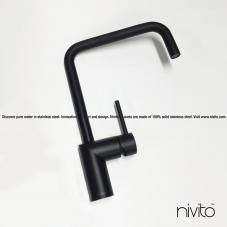 Nero design rubinetteria