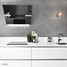 Rubinetto Cucina Nero - Nivito 3-RH-320