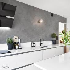 Rubinetto Cucina Nero - Nivito 4-RH-320