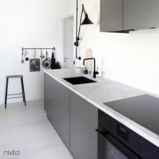 Rubinetto Cucina Nero - Nivito 5-RH-320