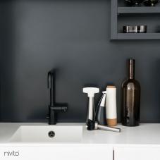 Rubinetto Cucina Nero - Nivito 7-RH-320
