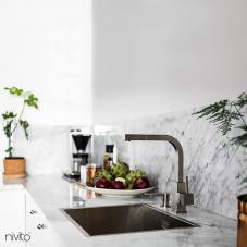Rubinetto Cucina Acciaio Inossidabile - Nivito 1-SP-300